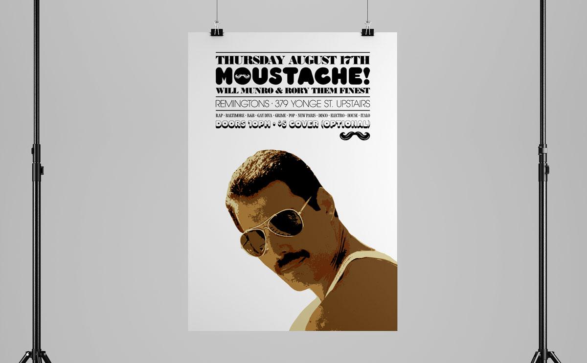 MoustachePosterScene